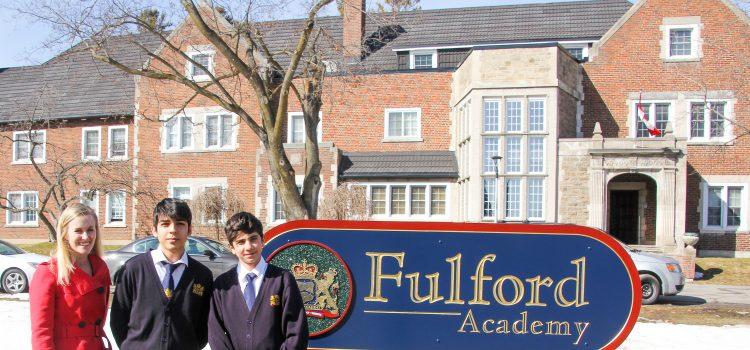 Fulford Academy'de Ögrenci Olmak