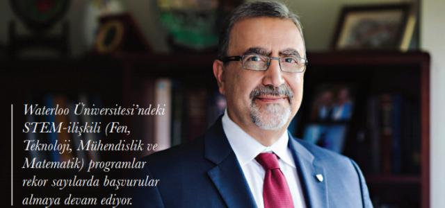 Waterloo Üniversitesi Rektörü Sayın Feridun Hamdullahpur İle Röportaj