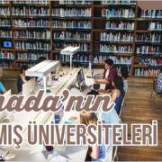 Kanada'nın Tanınmış Üniversiteleri